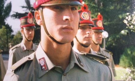 Andrea Antonaci, sergente maggiore dell'esercito