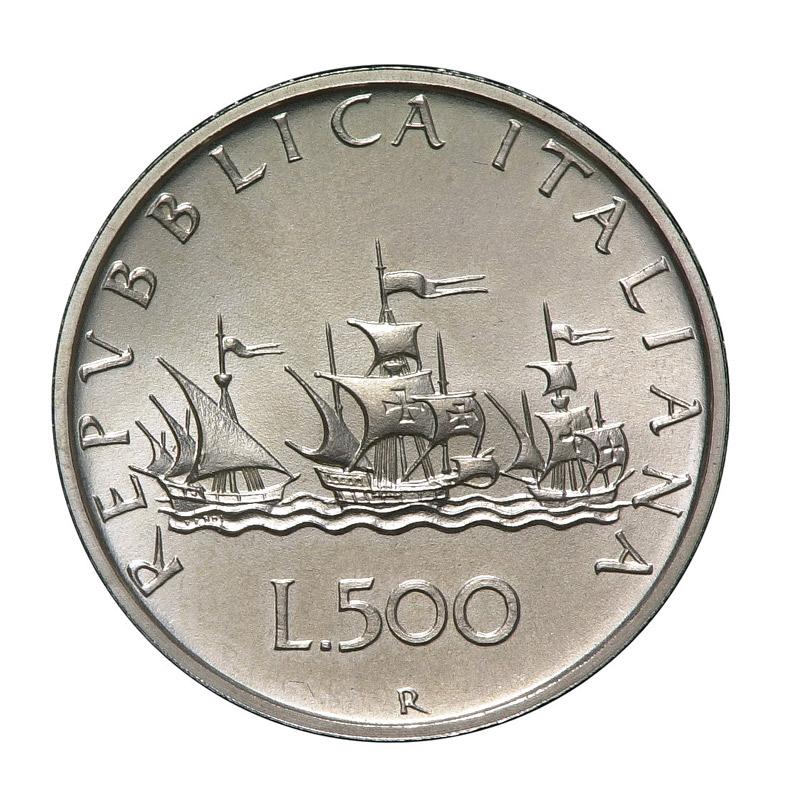 500-lire-caravelle-fronte